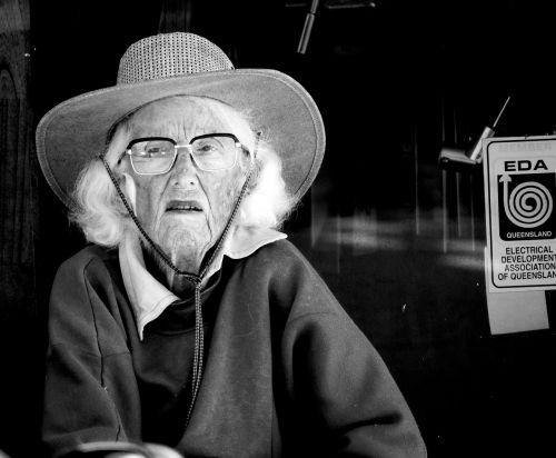 woman elderly pensioner