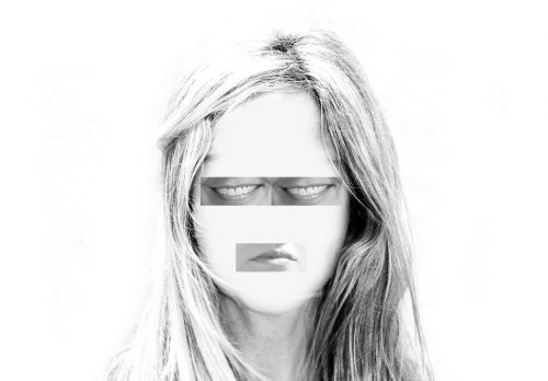 woman face psychosis