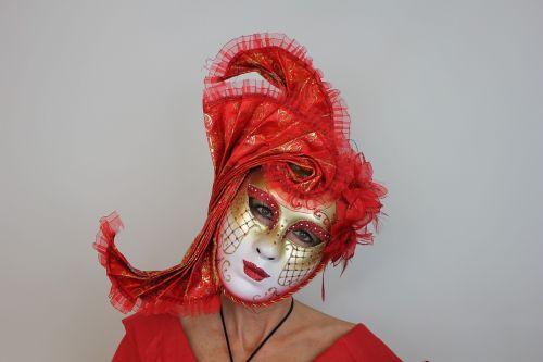 woman carnival venice