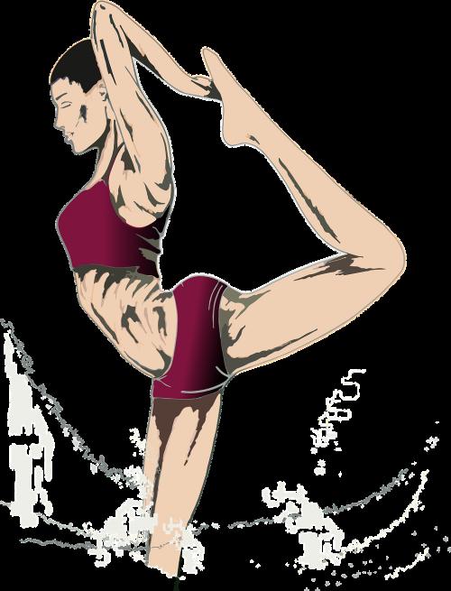 woman dancer weight loss