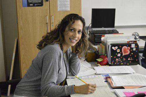 woman office teacher