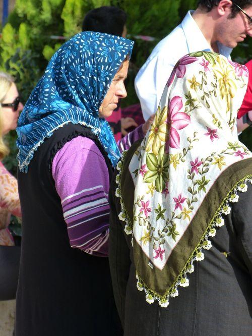 woman headscarf muslim