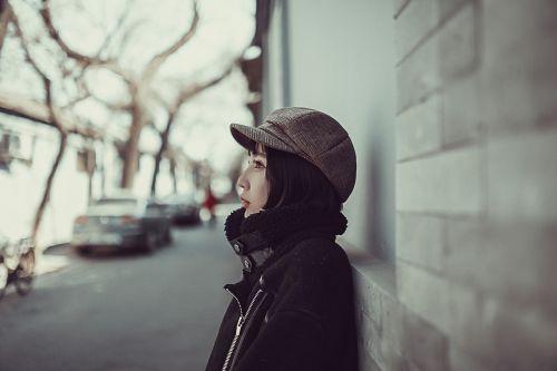woman model street