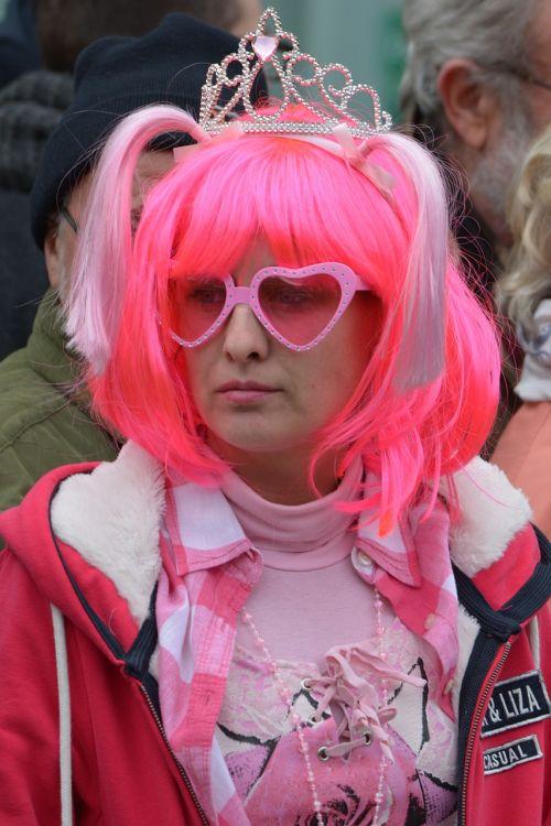 woman dress up carnival