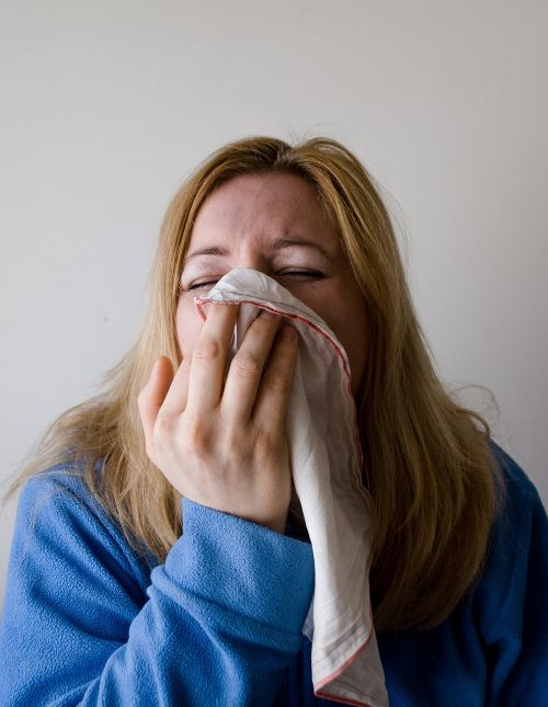 woman blow blowing