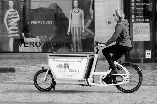 moteris, triratis, transporto priemonė, keliauti ir keliauti, dviratis, transportas