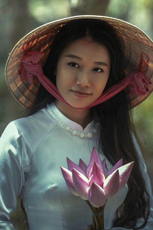 woman asian dress