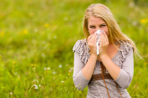 Woman With A Hay Fever