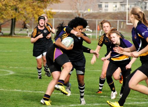 woman's rugby sport