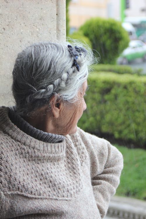 women elderly woman grandmother