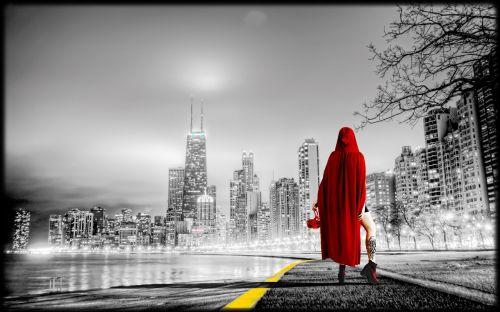 women city urban