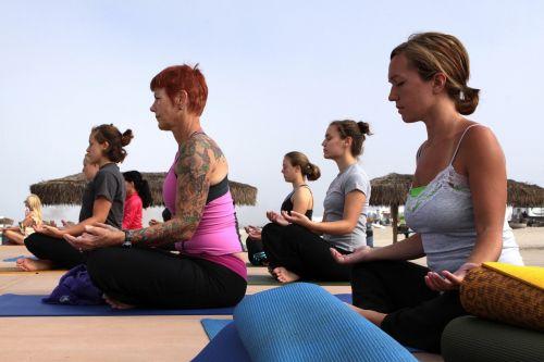 women yoga classes fitness