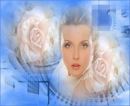 women flowers beauty