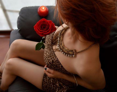 women redhead peliroja
