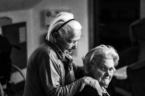 women woman seniors
