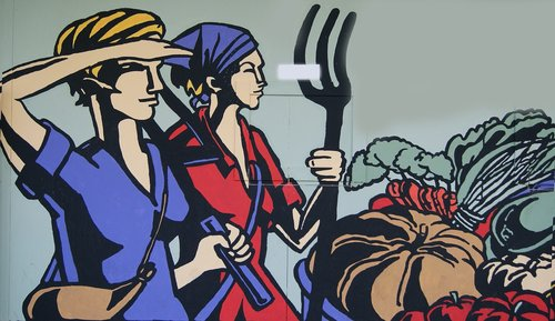 women  work  agriculture