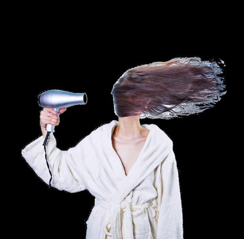 women  hair dryer  hair