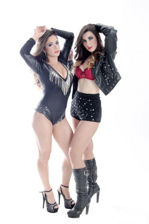 women duo sensual
