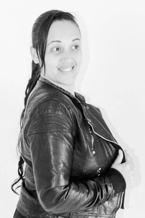 women jacket leather