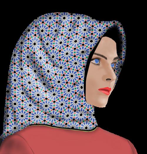 women's girl hijab