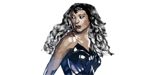 wonder woman gal gadot super hero