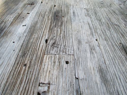 wood boards structure