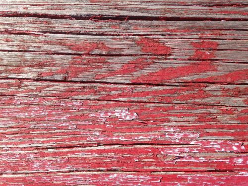 wood rustic red