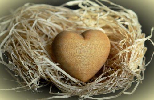 mediena,medžio vata,natūralios medžiagos,šviesiai ruda,žinoma,širdis,medinė širdis,simbolis