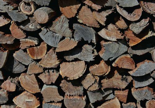 wood wood chopping wood stack