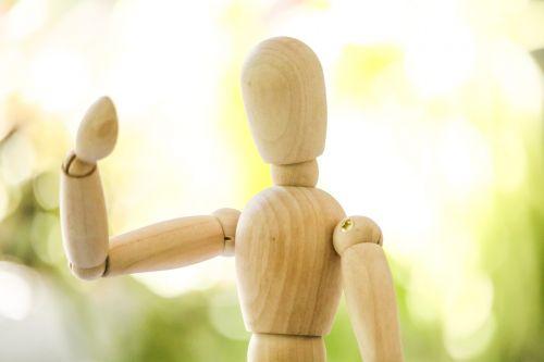 wood figure carving