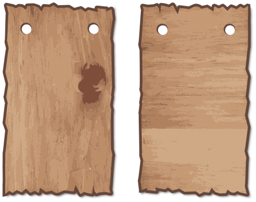 wood wooden signs