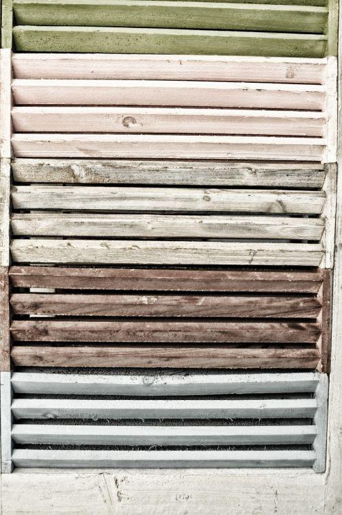 wood vintage door
