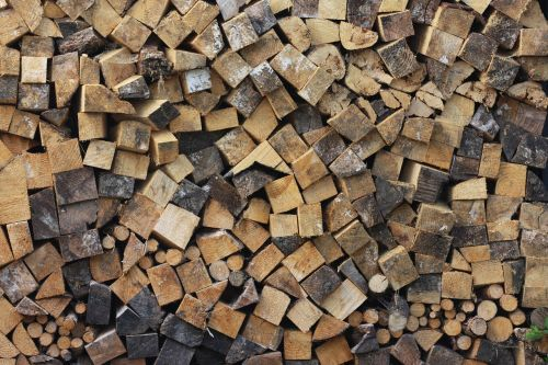 wood holzstapel log