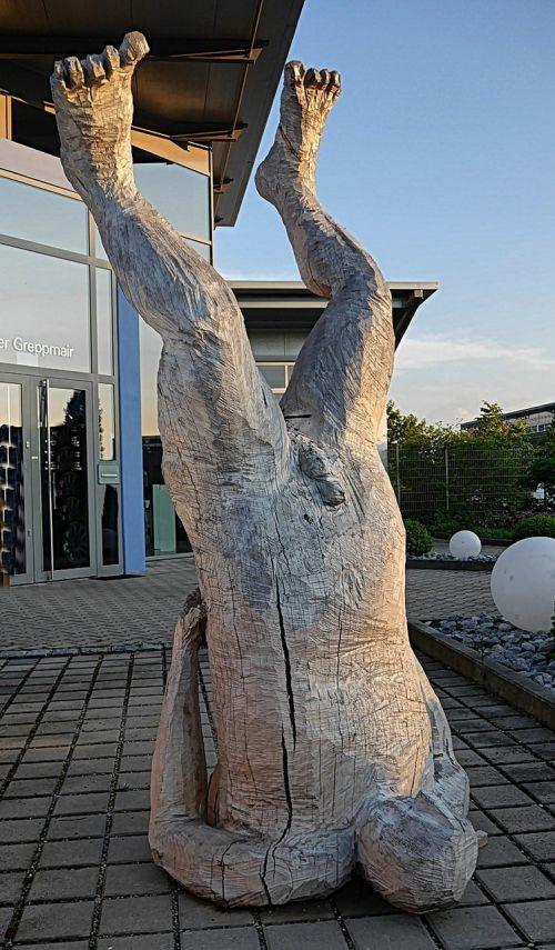 wood holzfigur sculpture