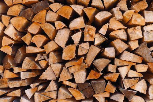 wood logs wood pile