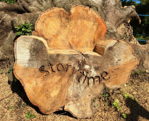 wood story story time