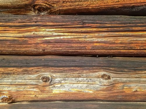 wood background structural beams