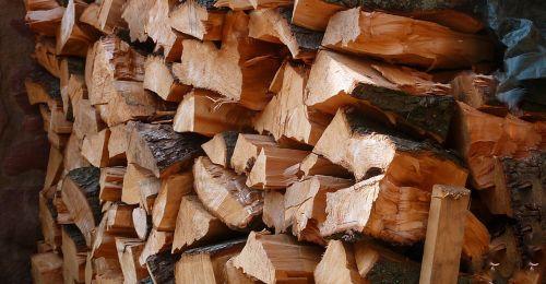 wood firewood holzstapel