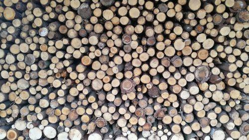 wood holzstapel background