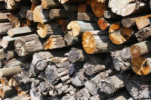 wood stock holzstapel