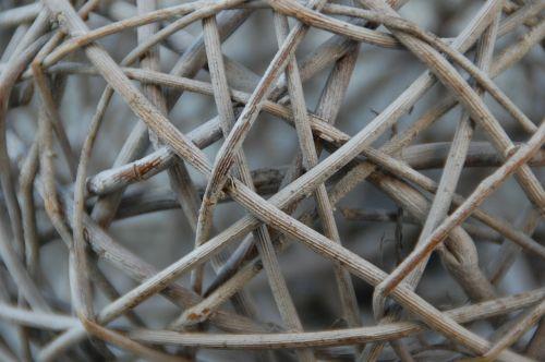 wood branches braid