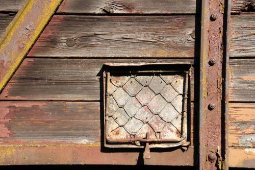 wood wagon disused trains