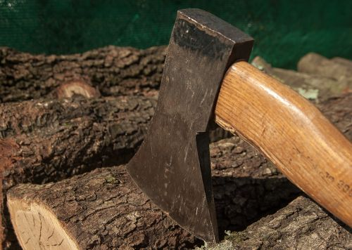 wood axe heating