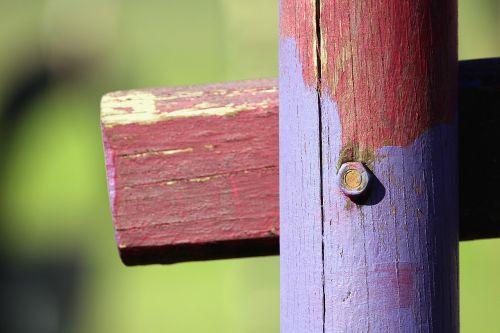 wood pile screw