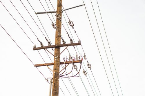 wood pole transmission