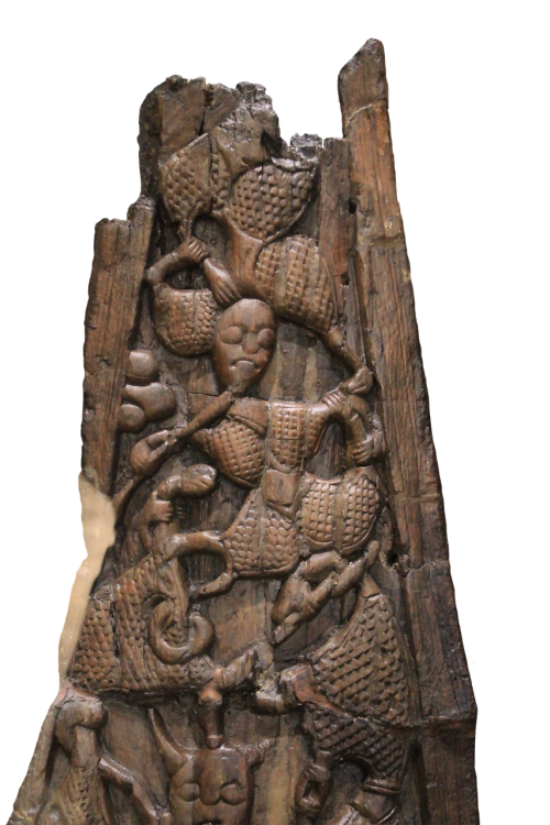 wood carving viking