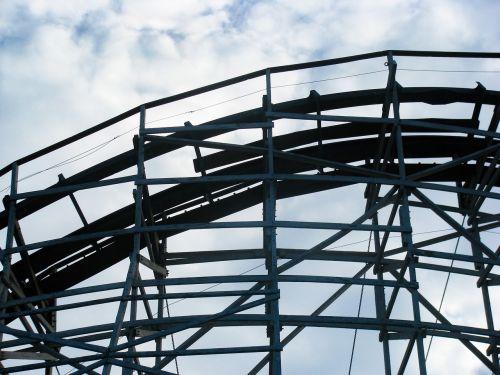 wood rollercoaster ride