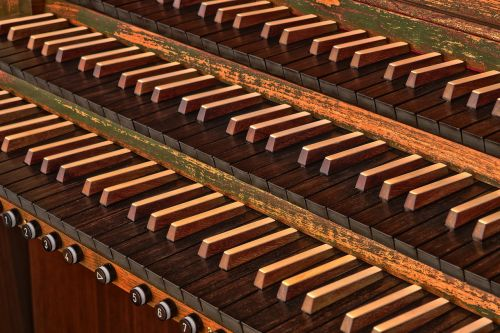 wood organ music
