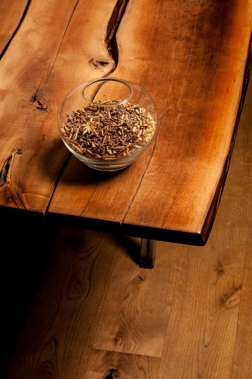 wood woods table