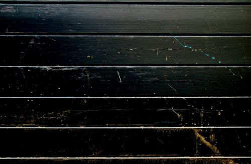 wood structure black